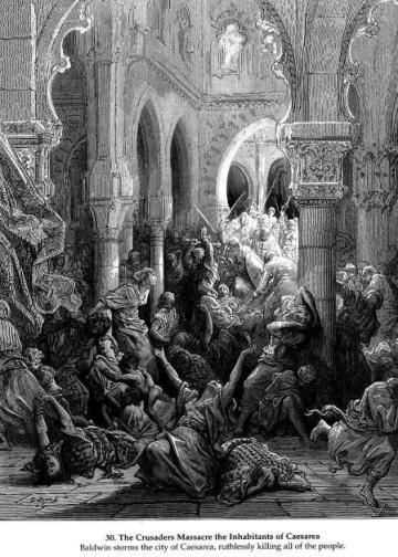 十字军:我们杀人放火,妇孺一个不放,但我们依旧是不奸淫的好人