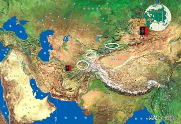 中亚三大河谷盆地,我国占了哪些?