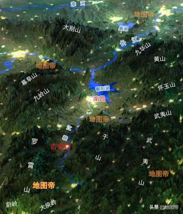 江西吉安,历史上有多牛?