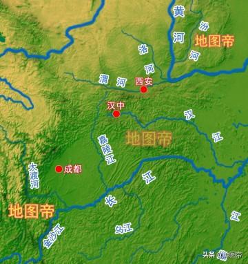 汉中和陕西关中隔着秦岭,为何不划入四川?