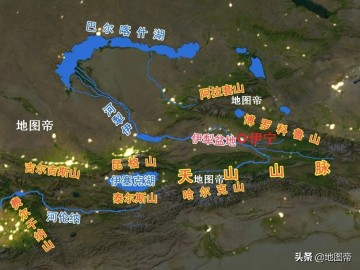 航拍新疆伊宁机场,距市中心非常近,只有3.5公里