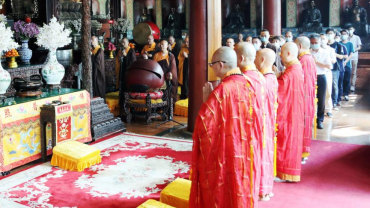 中国佛教协会纪念中国人民抗日战争胜利76周年