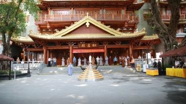 广州佛教界在大佛寺开展2021疫情防控应急演练