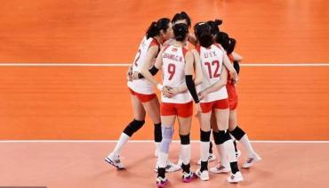 三连败!中国女排2比3不敌俄奥运队