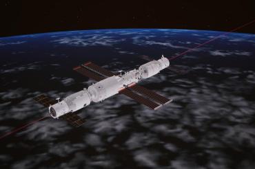 天舟三号与空间站完成交会对接