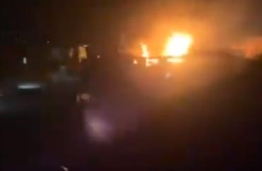 黎巴嫩北部一罐车发生爆炸 至少20人死亡