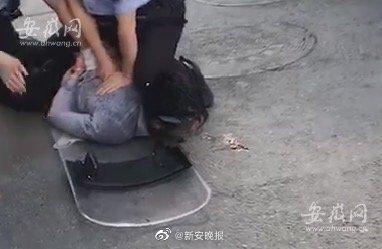 安徽男子当街持刀行凶 致5死15伤