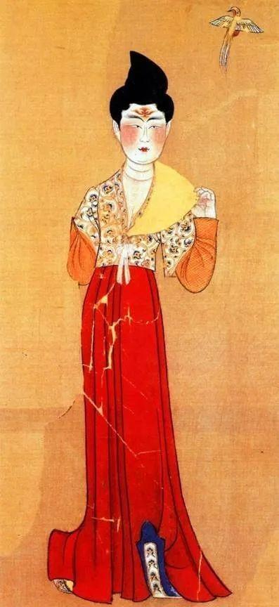 唐代女子的石榴裙。来源/网络