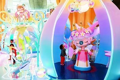 潮流玩具受到年轻人追捧。王冈摄/光明图片