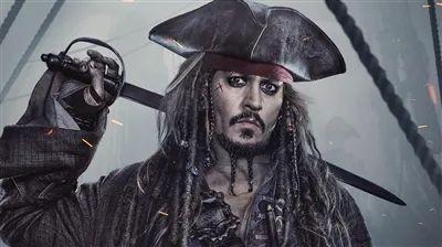 《加勒比海盗》电影剧照。
