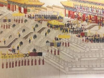 清朝皇帝大婚与文化交流融合