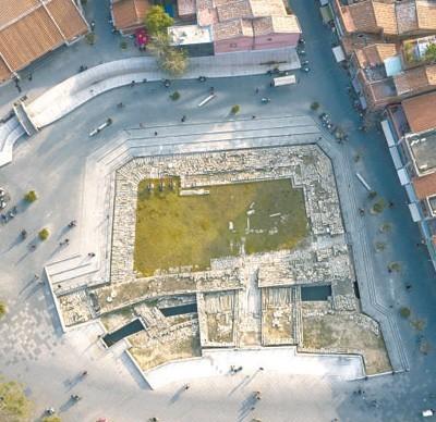 始建于南宋的德济门遗址。资料图片