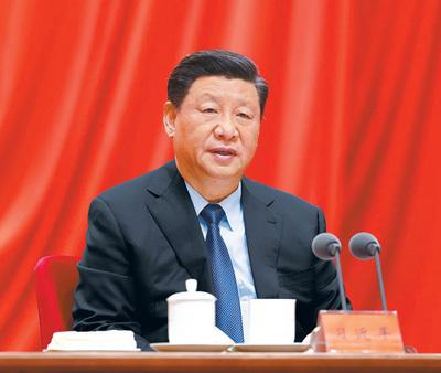 习近平:以优异成绩迎接建党一百周年