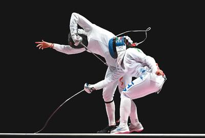 中国女子重剑队团体赛排名第四 全力以赴 亦是英雄