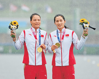 中国体育代表团再获2金(奥运速递)