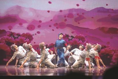 现代舞剧《闪闪的红星》