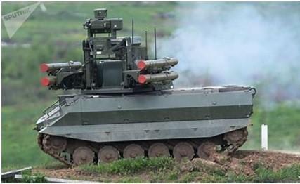 天王星战斗机器人明年将列装俄陆军