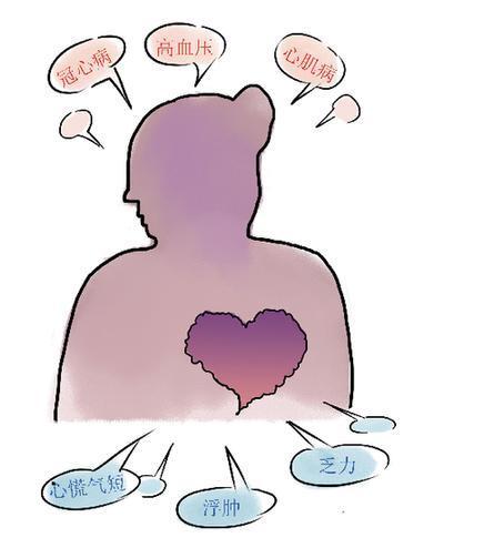 """慢性心力衰竭死亡率高达50% 心脏大了还能不能""""回复"""""""