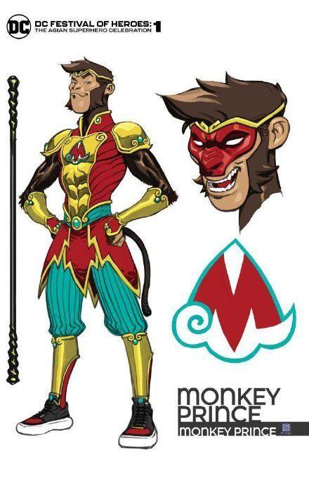 "DC推出超级英雄""猴王子"" 灵感来源于《西游记》"