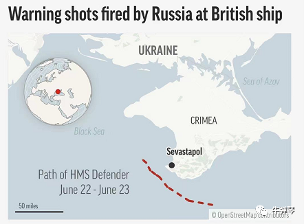 冷战后第一次 俄罗斯实弹驱逐北约军舰!