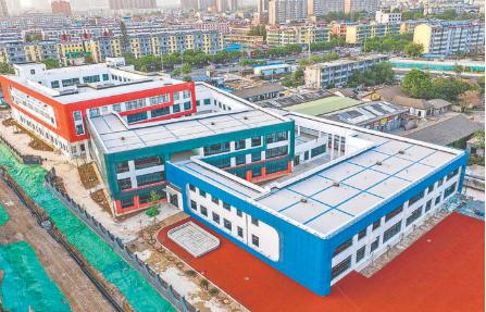 运城市第五幼儿园建设项目即将竣工验收