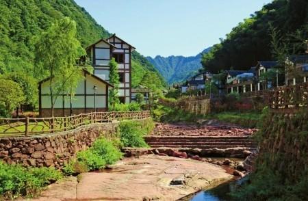 古蔺县金鱼溪。