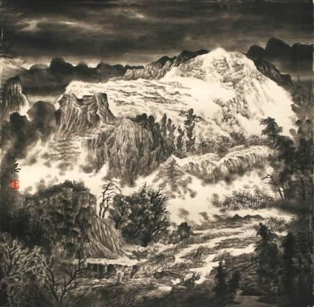 画风沉雄,笔墨洒脱——当代著名山水画家于大忠的绘画风格与特点