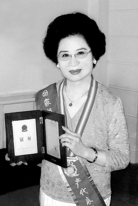 2008年,刘秀荣被评为国家级非物质文化遗产项目(京剧)代表性传承人。
