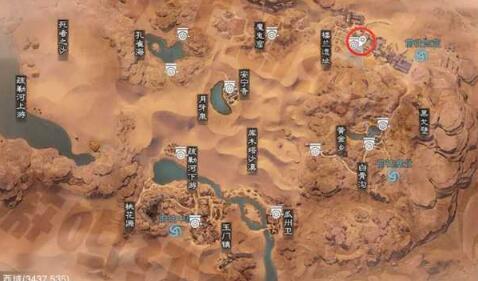一梦江湖寻冬留影21天梦崽地图地点位置坐标汇总  1.28日梦崽及拍照位置一览