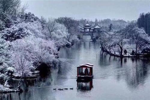 古人画雪 意蕴悠长