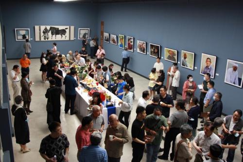 《游于艺乐无极》艺术沙龙在南卡艺术中心开幕