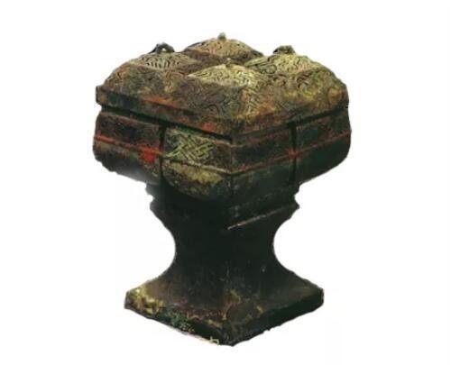 西汉·四穴连体熏炉。来源/网络