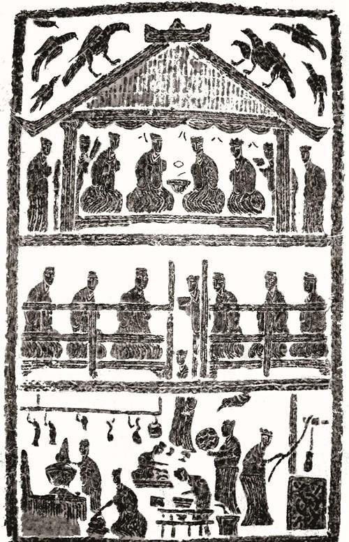 汉代画像石中的汉代饮食文化