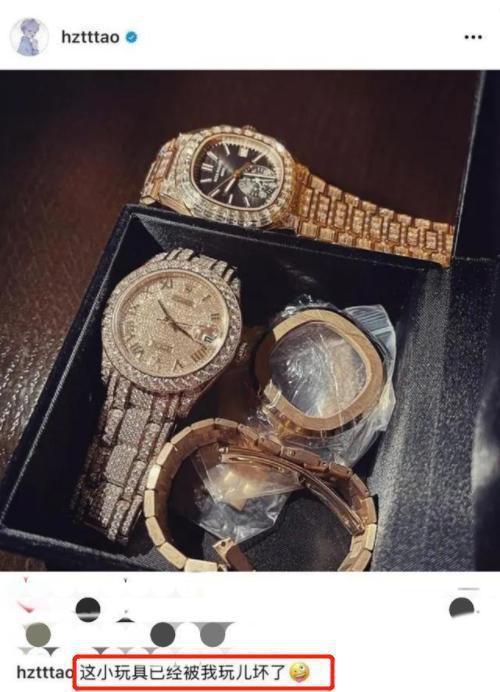 黄子韬私人飞机豪华如宫殿 曾称800万手表为玩具