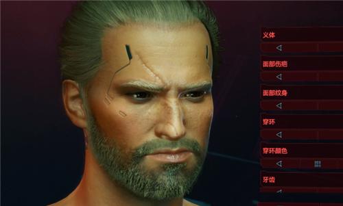 赛博朋克2077杰洛特捏脸数据详细介绍