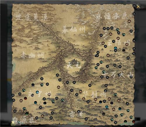 鬼谷八荒地图全开是什么样子的