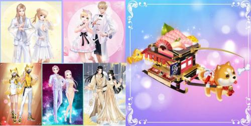 QQ炫舞手游三周年狂欢 四大名绣合作即将华丽上线