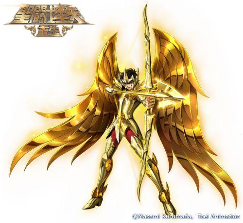《圣斗士星矢:重生》神圣射手座·艾俄洛斯解