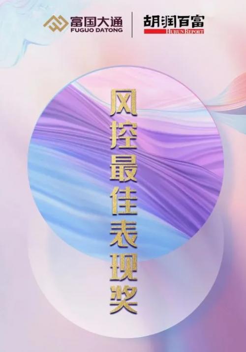 """富国大通四度荣获""""独立财富管理风控最佳表现奖"""""""
