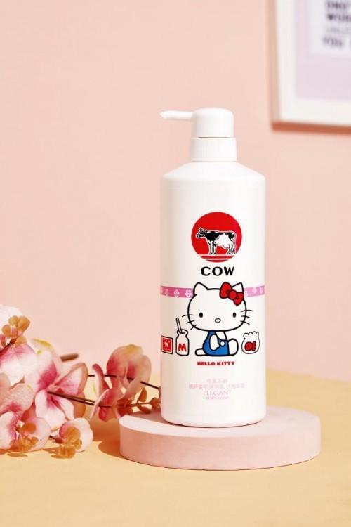 COW STYLE牛乳石硷推出新包装,与Hello Kitty惊喜联名再度来袭