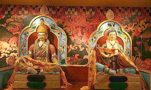 松赞干布和文成公主,见证唐代汉藏友好关系