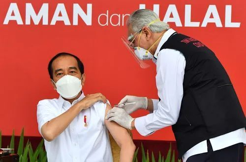 这些外国领导人,打了中国疫苗!