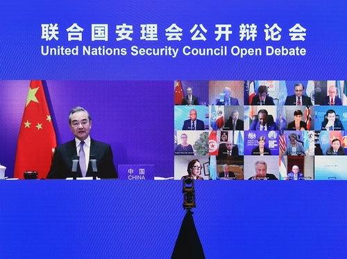 王毅:由于一个国家阻拦,安理会未能发出一致声音