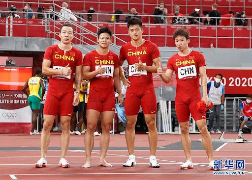 英国短跑选手乌贾B瓶尿样阳性,中国队有望递补男子4x100米铜牌