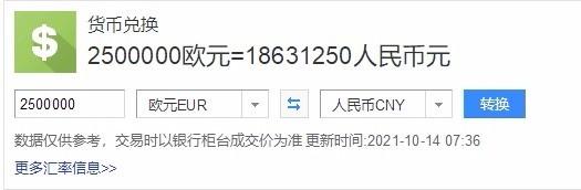 武磊身价下降至250万欧元 250万欧元是多少人民币