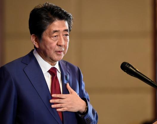 日本前首相安倍晋三(路透社)