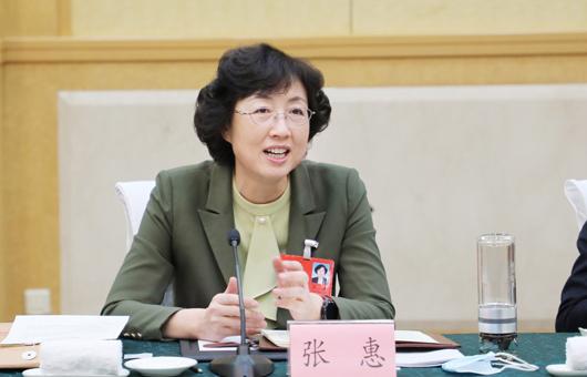 两会声音丨全国人大代表张惠:加快完善医疗卫生服务体系