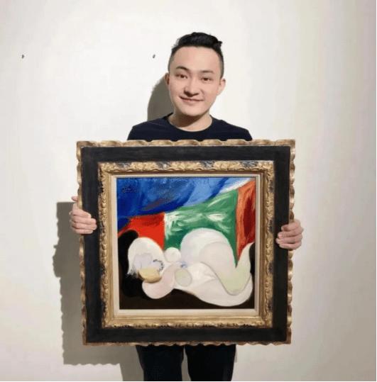 圈内第一NFT拍卖狂人和支持者孙宇晨,再次大方出手1050万美金购NFT头像