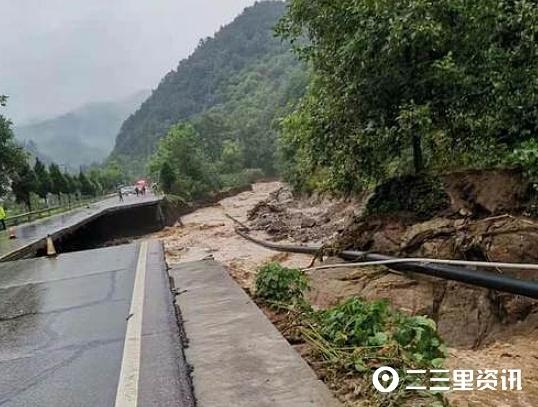 山阳、洛南等地电力设施因暴雨线路受损