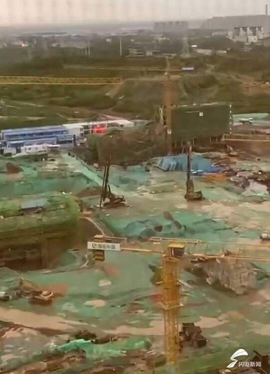 大风刮出的真相:济南绿城·春来晓园项目为拿预售证,盖出假六层